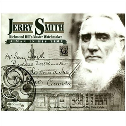 The cover to a book published about Jerry Smith in 1998 that was co-written by Mary Jane Celsie and Jerry Smith's daughter Audrey Smith. – Courtesy of RHHS