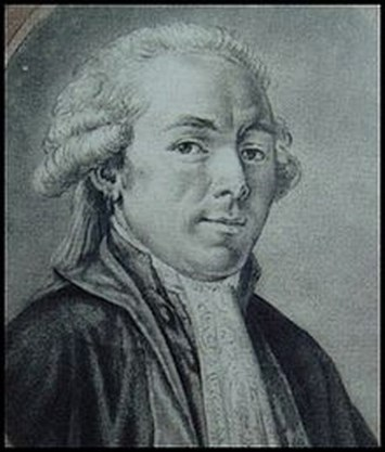 Portrait of the Comte de Puisaye in his later years.